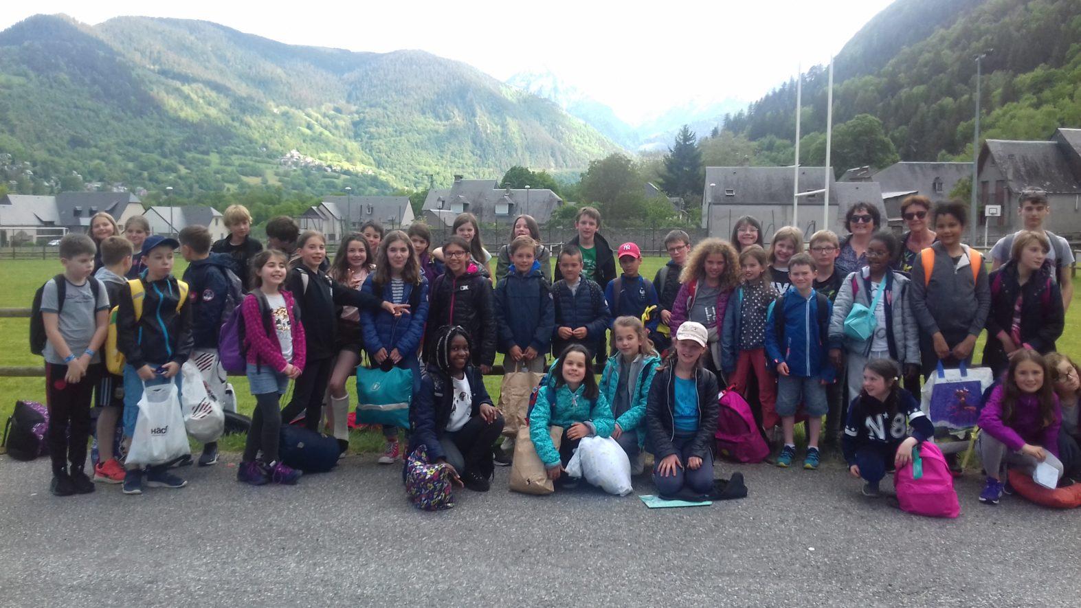 Séjour dans les Pyrénées journée du 2 juin