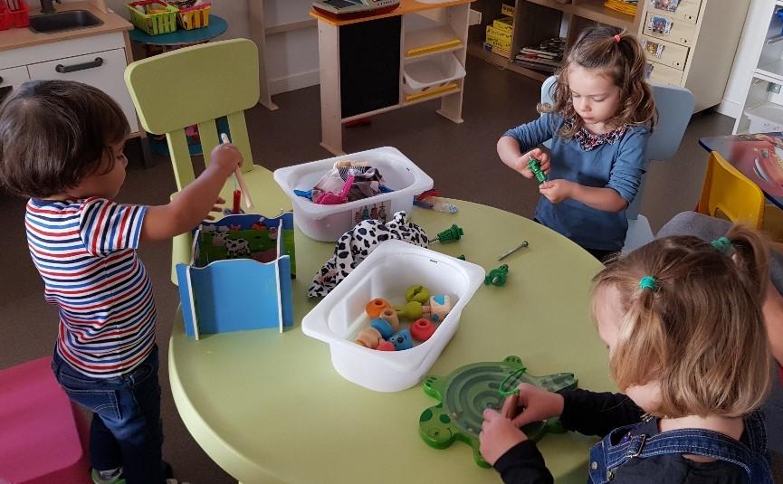 Les ateliers d'inspiration Montessori