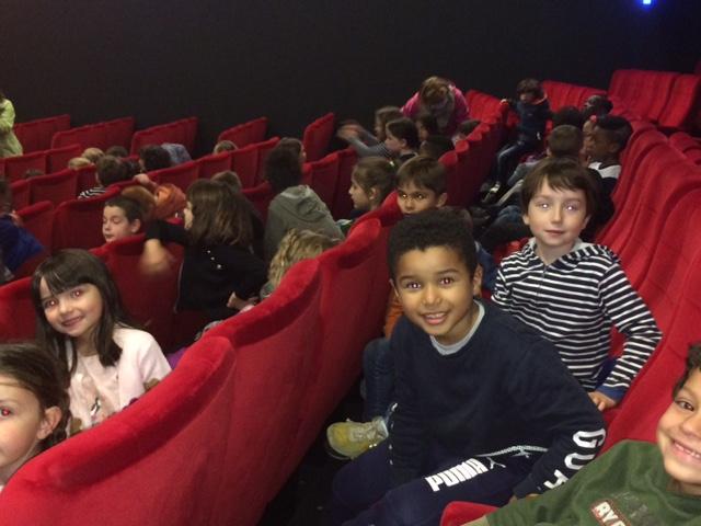 Les CE1/CE2 au cinéma